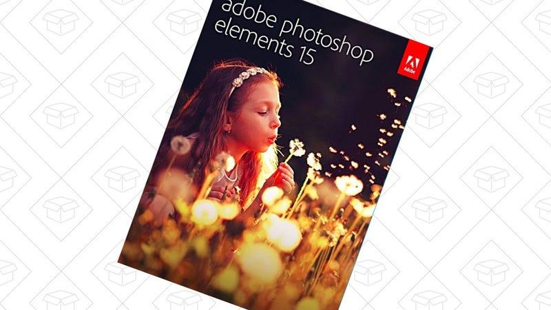 Adobe Photoshop Elements 15, $40