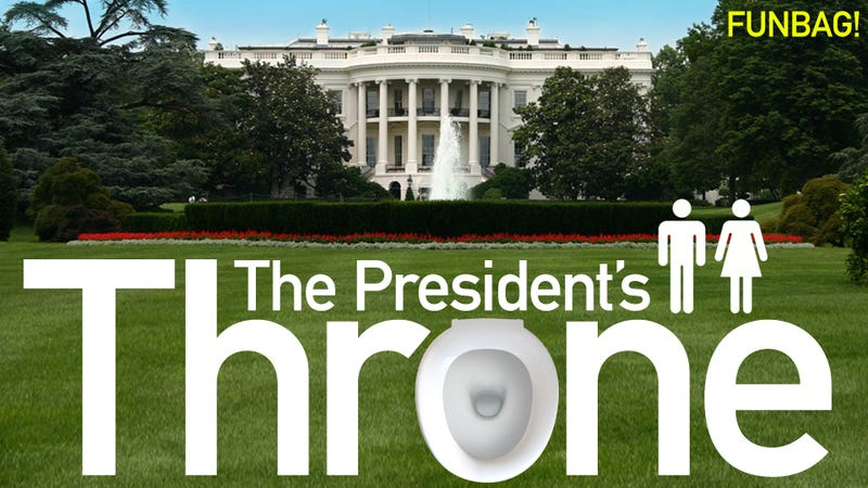 Illustration for article titled An Inside Look At The White House Pooper!