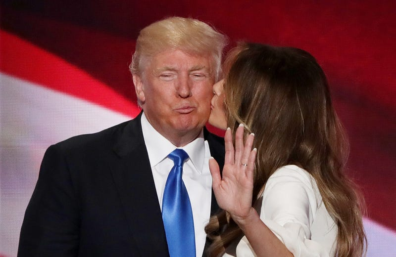 President Donald Trump and first lady Melania Trump (Alex Wong/Getty Images)