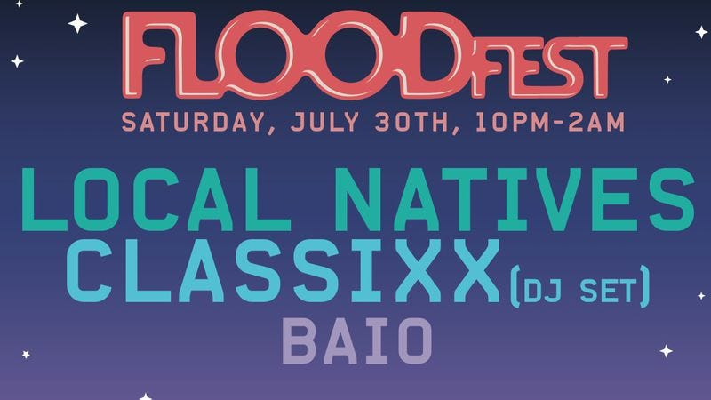 Illustration for article titled RSVP to FLOODfest for a chance to see some Lollapalooza acts for free