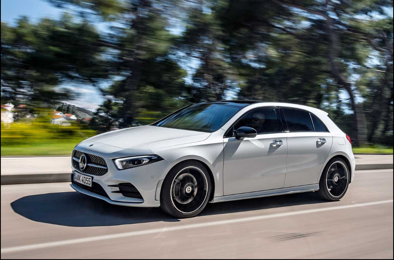 Illustration for article titled SO looks like the new Mercedes A-Class is getting good reviews...Too bad they won't bring the hatch here to the US, only North of the Wall