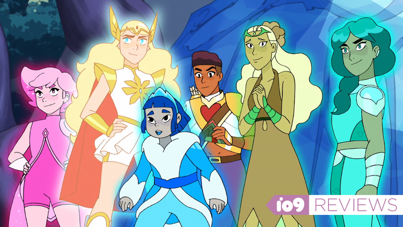 The She-Ra crew.