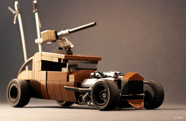 The Vehicles of Mad Max: Fury Road In Shiny LEGO Form