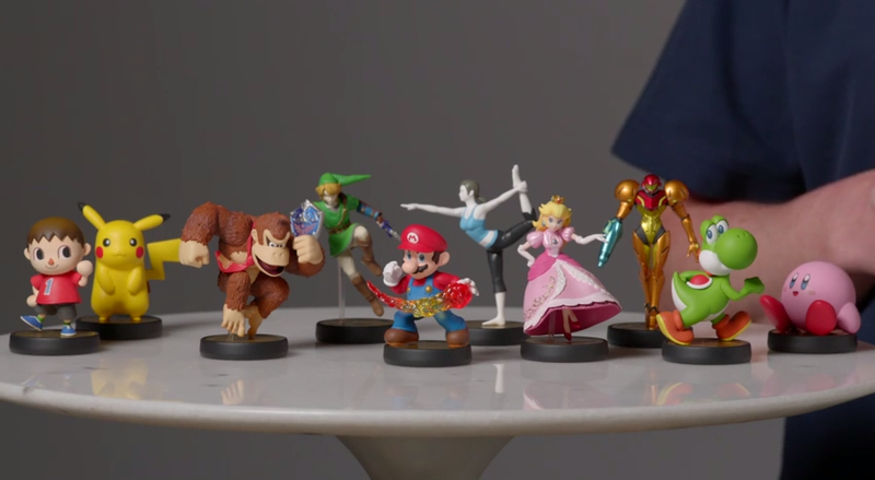 Illustration for article titled How Nintendo's Amiibo Toys Will Work In Smash Bros. And Beyond