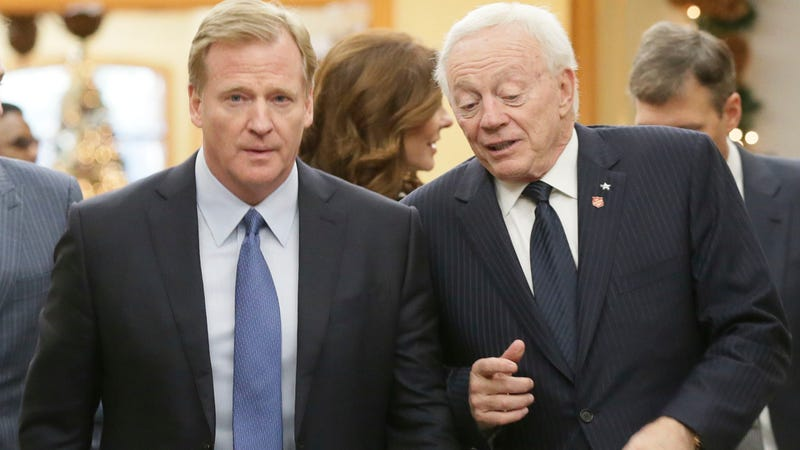 Illustration for article titled Jerry Jones And NFL Calmly Resolve Legal Battle, To The Disappointment Of Everyone Else