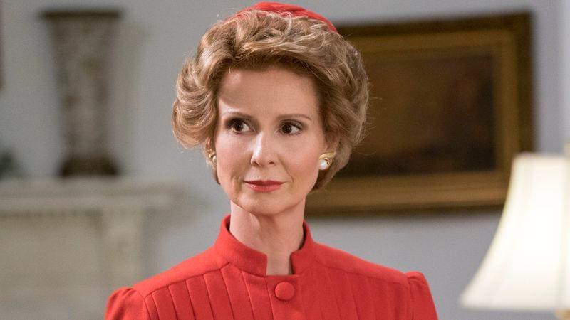 Cynthia Nixon as Nancy Reagan in Killing Reagan (Photo: National Geographic Channel)