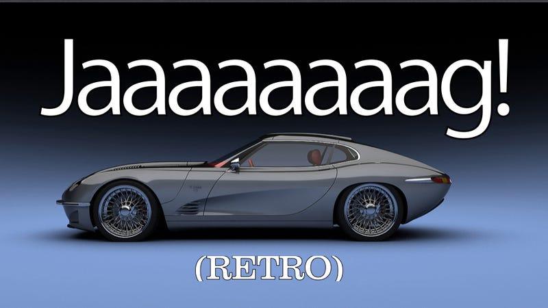 the growler e 2011 is a reborn jaguar e type