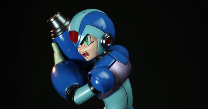 Illustration for article titled This Sure Is A $600 Mega Man X Statue