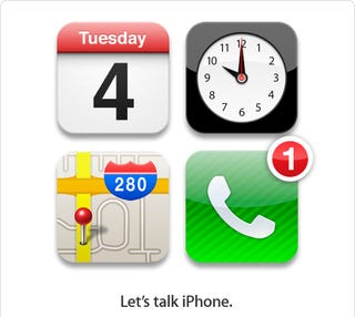 Illustration for article titled Apple Finally Confirms October 4 iPhone Event