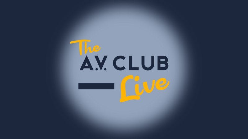 Illustration for article titled Chicago, The A.V. Club Live is just two days away—buy your tickets now!