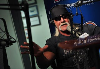 Hulk Hogan visits SIRIUS XM Studio on March 3, 2010 in New York CityPhoto by Henry S. Dziekan III/Getty Images