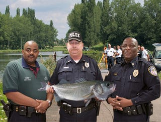 Illustration for article titled Authorities Abandon Search For Missing Girl After Finding Huge Bass While Dredging Lake