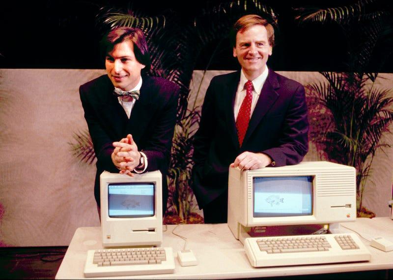 Illustration for article titled Así fue la presentación del primer Macintosh hace hoy 30 años