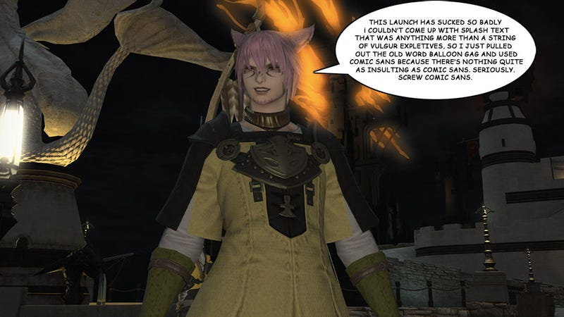Illustration for article titled Okay Yeah, Final Fantasy XIV's Relaunch Is A Disaster [Update]