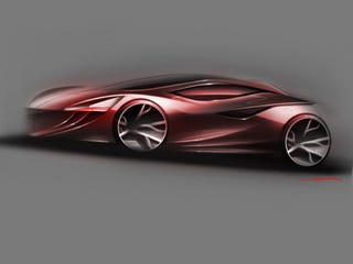 Illustration for article titled 2018 Mazda3 Concept to be Modeled Live at LA Auto Show