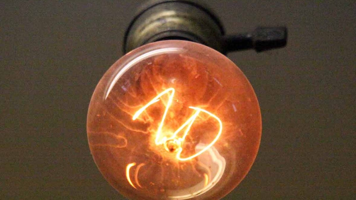 The 110 Year Old Light Bulb Thatu0027s Never Been Turned Off