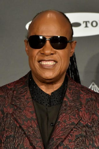 Stevie Wonder attends the 30th Annual Rock and Roll Hall of Fame Induction Ceremony at Public Hall April 18, 2015, in Cleveland.Michael Loccisano/Getty Images