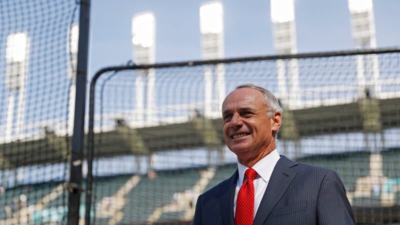 Illustration for article titled Does Rob Manfred Even Like Baseball?
