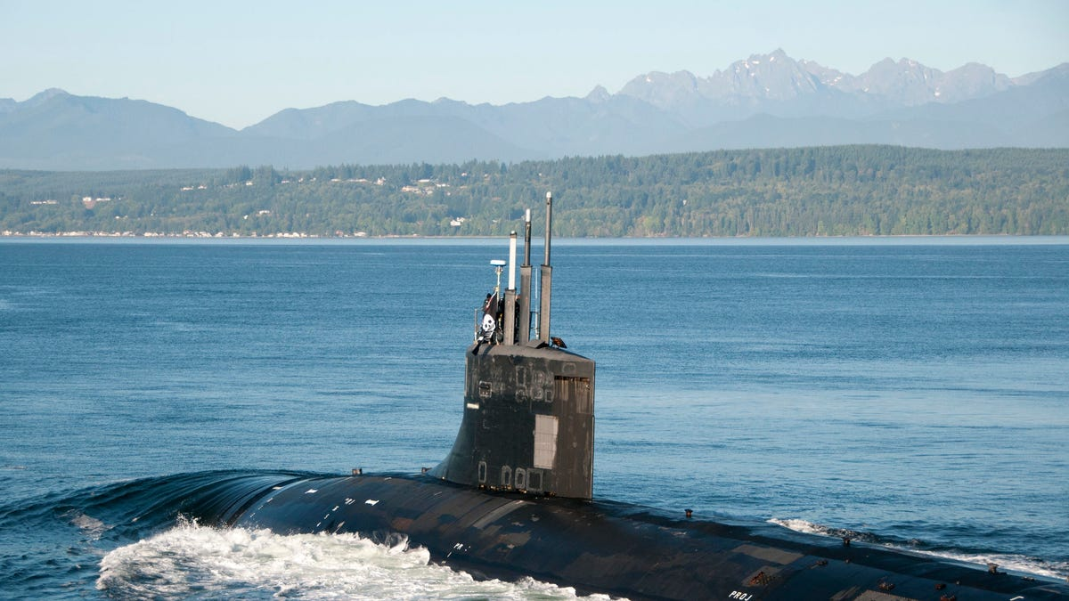America\'s Most Secret Spy Sub Returned To Base Flying A Pirate Flag