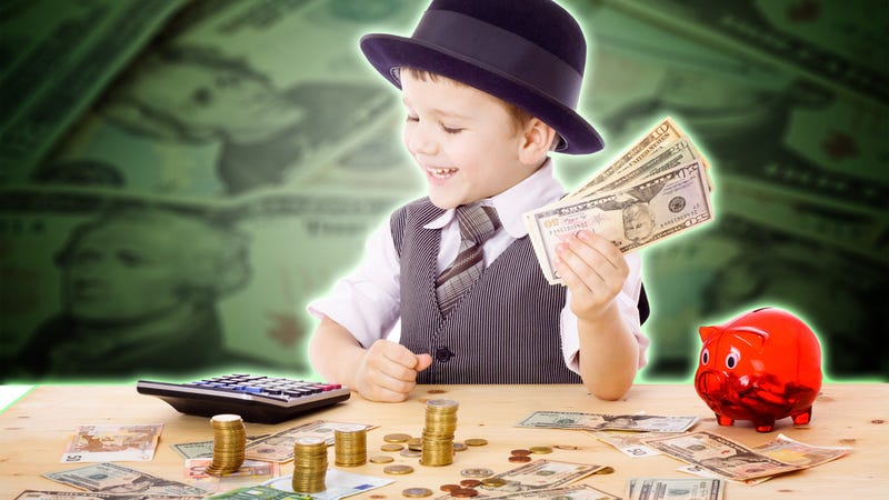 """Illustration for article titled Use This """"Bank Ledger"""" to Manage Your Kids' Allowance"""