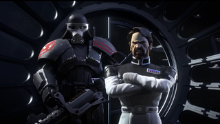 Illustration for article titled Our First Look At Star Wars' Post-Episode VI Universe Is In A Phone Game