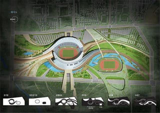 Illustration for article titled 2014 Asia Games Stadium Gallery