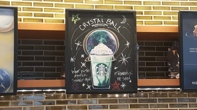 Illustration for article titled Starbucks' Crystal Ball Frappuccino failed to predict its own social media failure