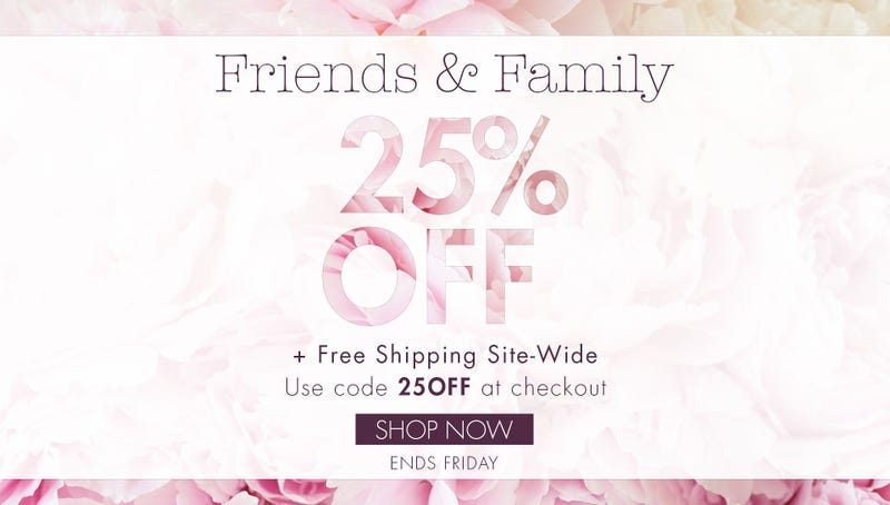 25% off sitewide, plus free shipping | Stila Cosmetics | Use code 250FF