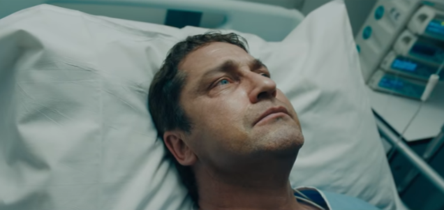 Gerard Butler, Gerard Butler's horrible American accent star in the trailer for Angel Has Fallen