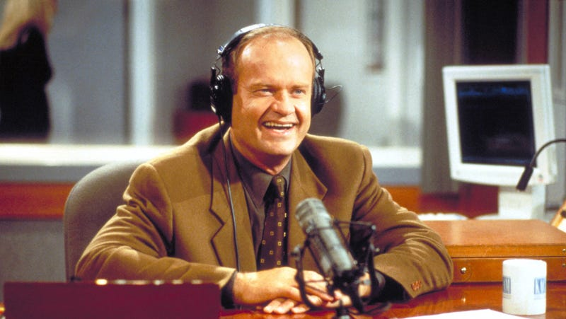 Illustration for article titled Let us speculate wildly about the 6 Frasier reboot ideas Kelsey Grammer is reportedly considering