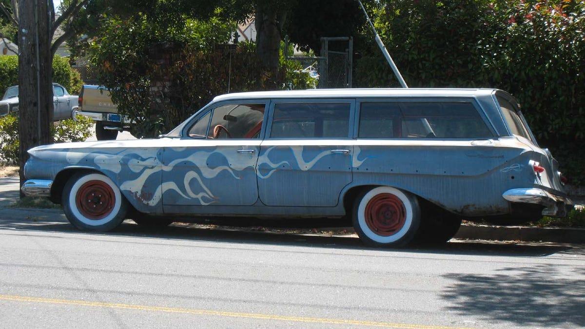 1961 Chevrolet Bel Air Station Wagon