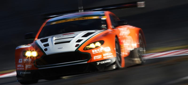 Illustration for article titled A Street-Legal Aston Martin Vantage GT3 Is Coming To Challenge The 911