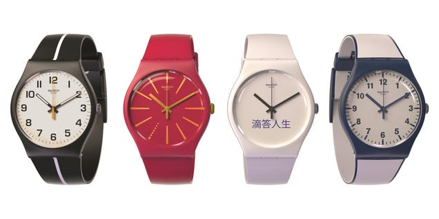 Swatch's New Analog Watch Will Let You Make Contactless Payments
