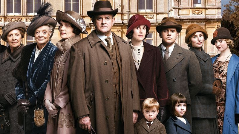 Illustration for article titled Downton Abbey might beat Community to #sixseasonsandamovie