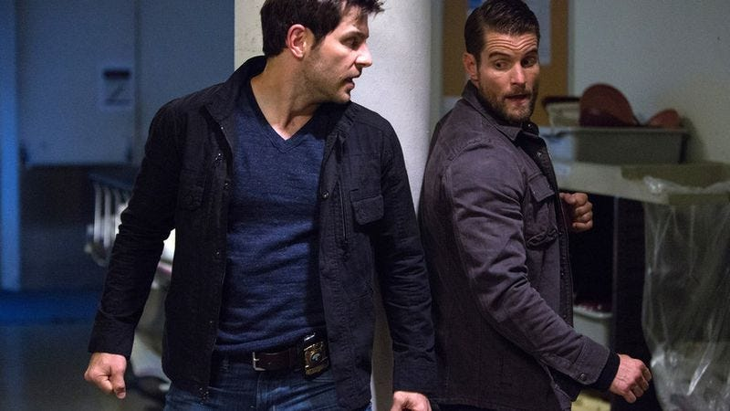David Giuntoli, Damien Puckler (NBC)
