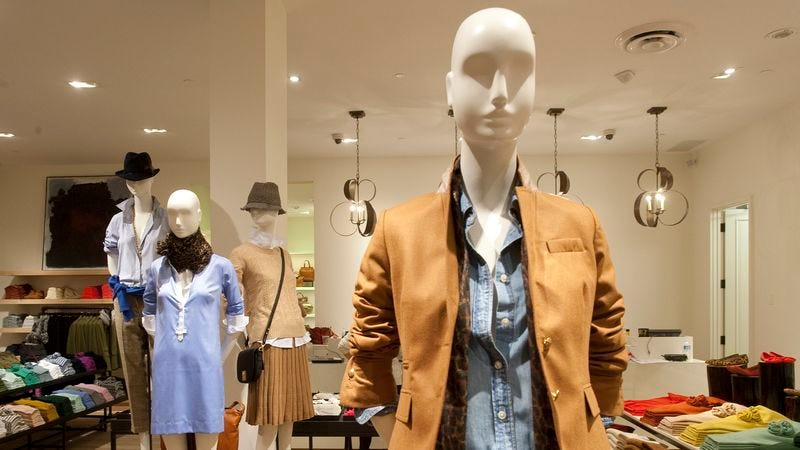 Illustration for article titled J.Crew Debuts New Line Of Stylish Casualwear For Mannequins
