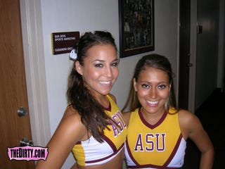 Illustration for article titled Arizona State Cheerleaders Executed For Brazen Half-Nakedness