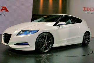 Illustration for article titled New Honda CR-Z Concept Steps Closer To Production, Gets Manual Transmission