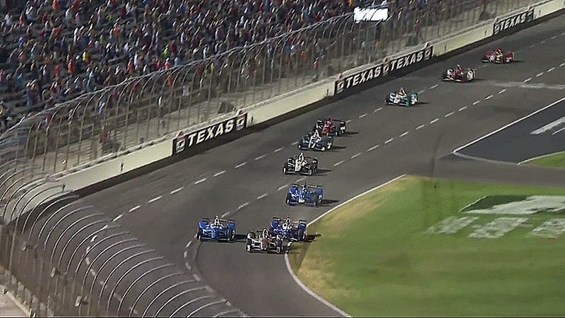 Turmoil for IndyCar with the pack back at repaved Texas