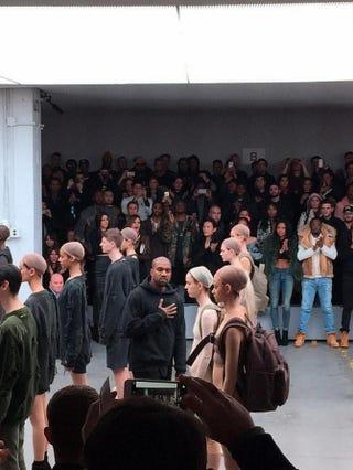 Kanye West, New York Fashion WeekTwitter