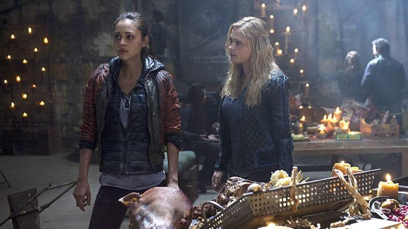 Lindsey Morgan, Eliza Taylor