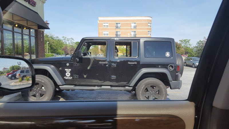 """Illustration for article titled Even Vader understands """"It's a Jeep Thing"""""""