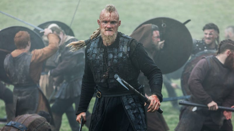 In its bloody mid-season finale, Vikings finds some