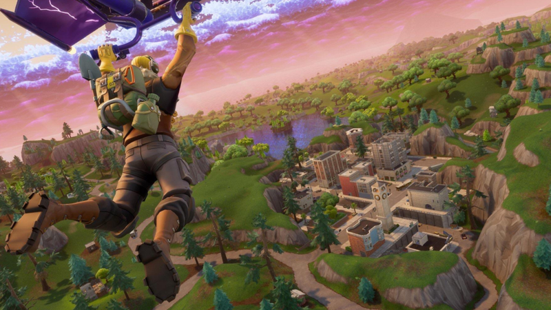 Fortnite's Tilted Towers Are Evil