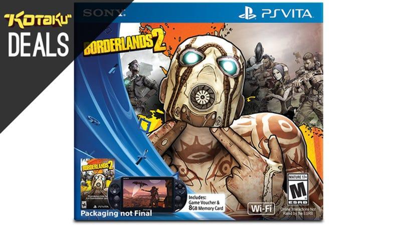 Illustration for article titled Playstation Vita Borderlands 2 Bundle Pre-Orders Are Live
