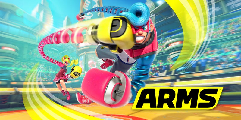 For some reason, upcoming Switch exclusive ARMS just isn't gelling with me. Source: Forbes