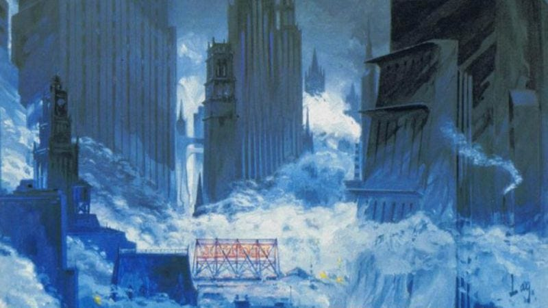 Illustration for article titled Gotham is a sumptuous nightmare in production designs from Batman Returns