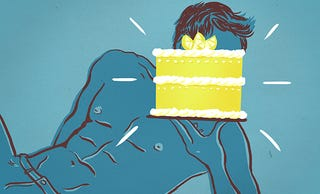 Illustration for article titled The Lemon Cake Male Objectification Experiment