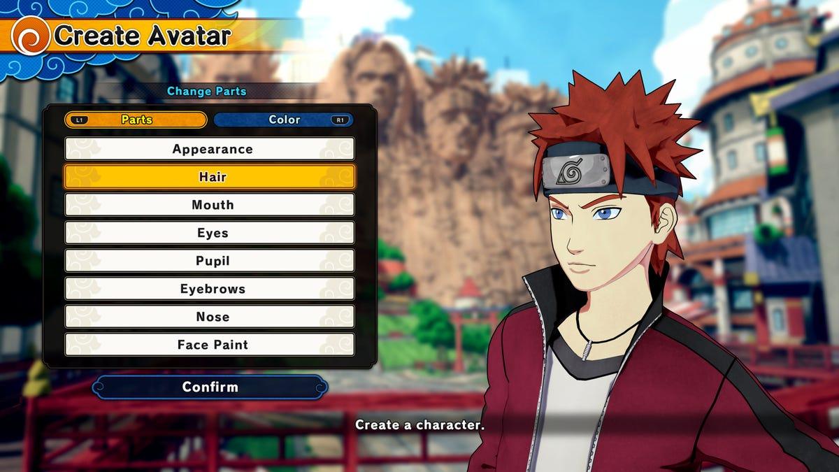 Design Your Anime Character : The next naruto game lets players make their own damn ninja