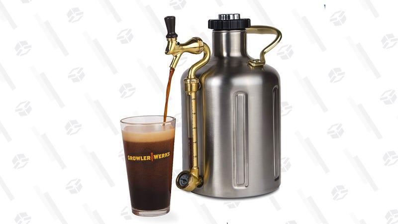 GrowlerWerks uKeg 128 Pressurized Growler for Craft Beer | $151 | Amazon